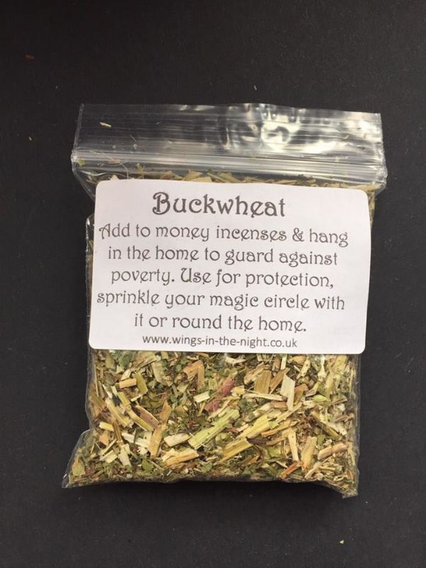 BUCKWHEAT Dried Spell Craft Herb